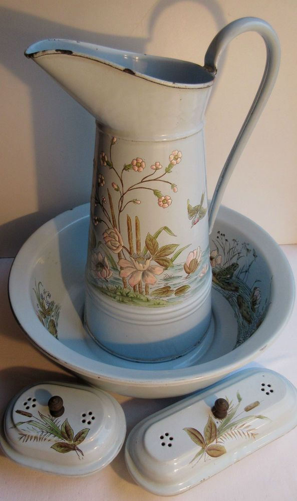 1000 images about pitcher and bowl on pinterest basins. Black Bedroom Furniture Sets. Home Design Ideas