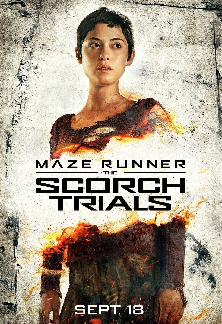 Maze Runner: The Scorch Trials (2015)  Rosa Salazar As Brenda