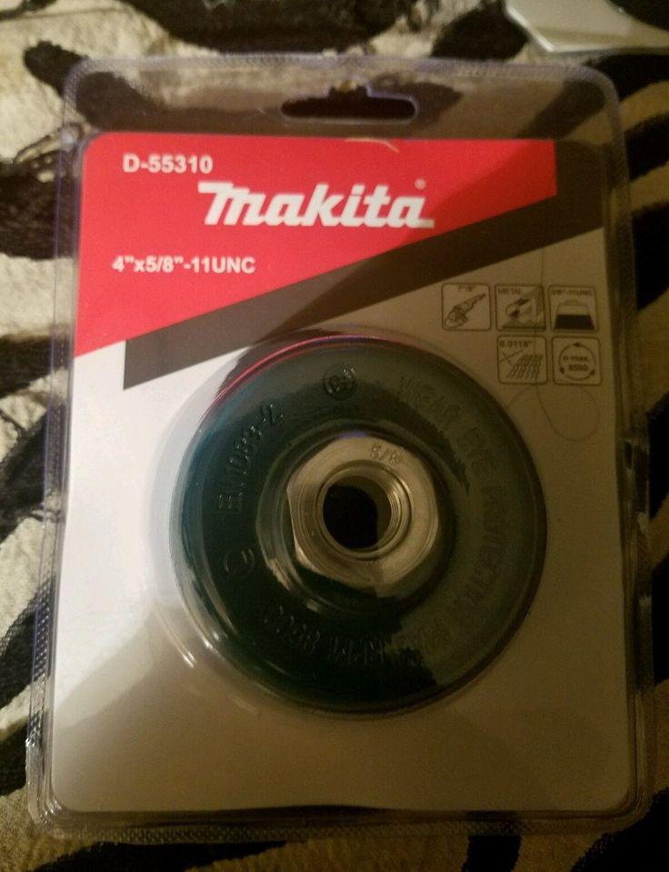 "Makita D-55310 4"" X 5/8""-11 Unc Crimped Wire Wheel Cup"