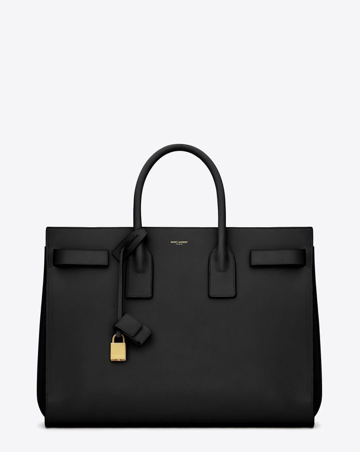 For Everything: Yves Saint Laurent Classic Small Sac De Jour Bag In Black Leather #ysl #holiday #giftguide
