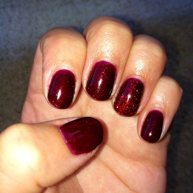 Love These Colors Together In Swing Baby Over Ruby Pumps By Gelaze With Loose Red Glitter On