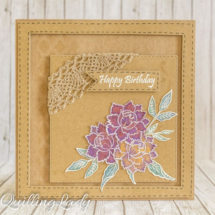 Hi all card lovers. This time, I used metallic paints for an extra sparkle on the flowers. I tried to keep the designs simple so the focal ...