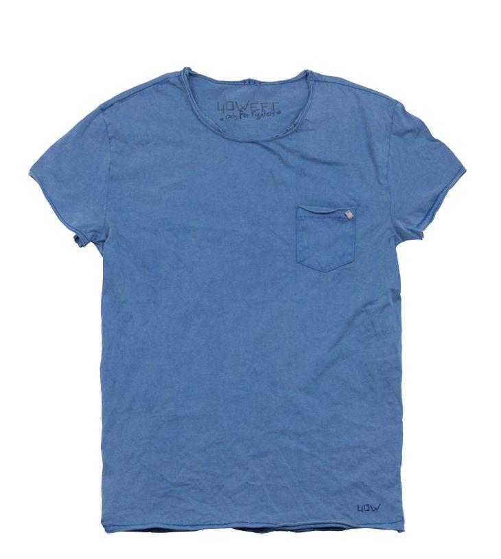 #40WEFT S/S 2015 #mencollection #t-shirt #basic #vintagelook #pocket #repin www.40weft.com