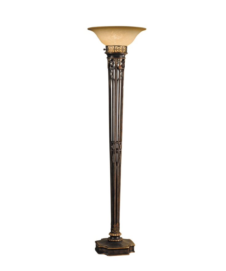 Murray feiss opera 74 inch high torchiere lamp