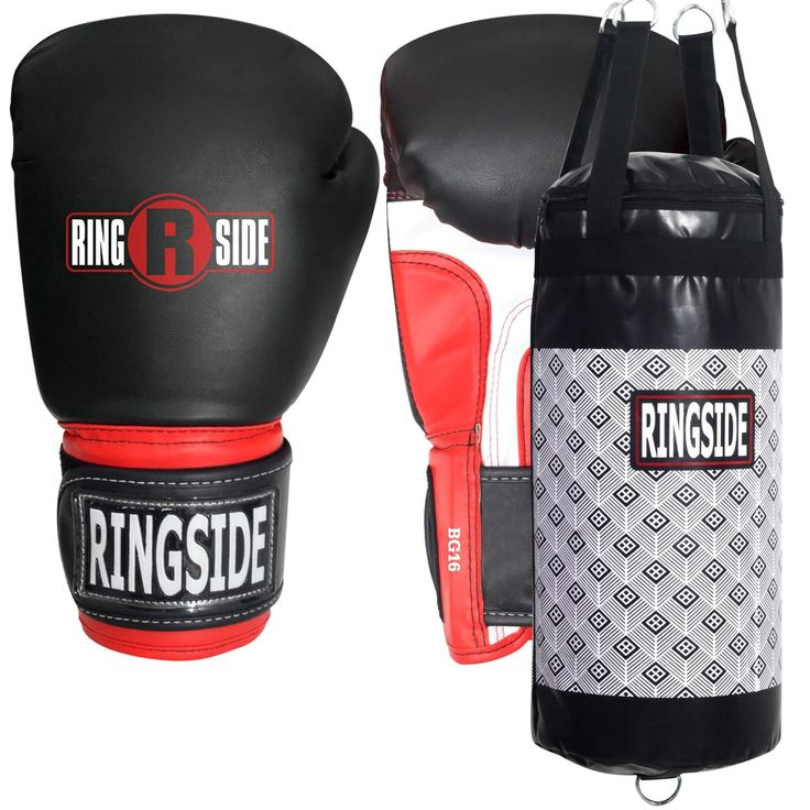 Ringside Youth Boxing Gloves + Punching Bag Bundle