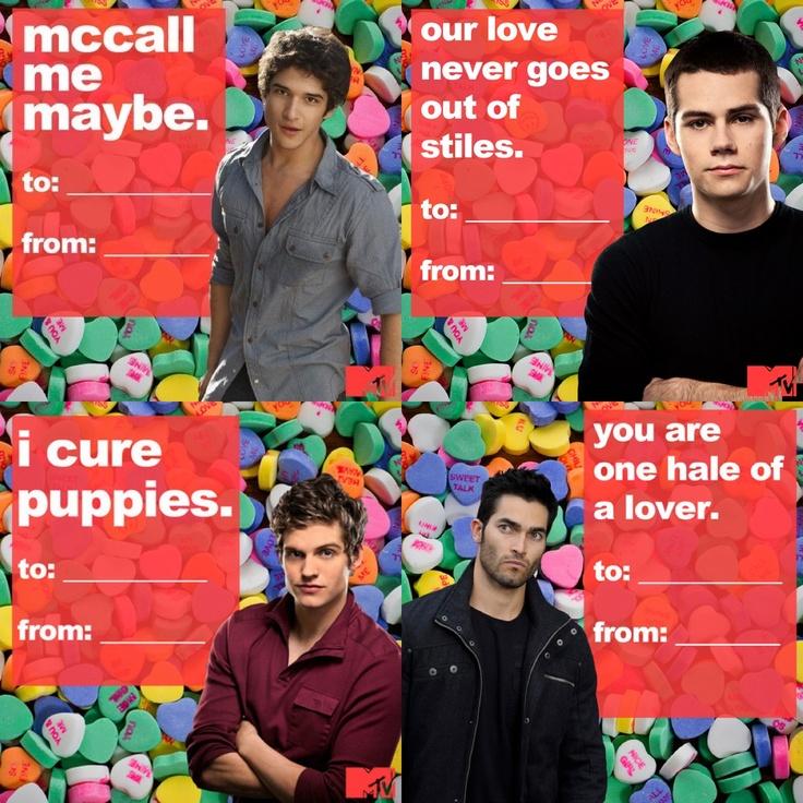 Teen Wolf Says Happy Valentineu0027s Day