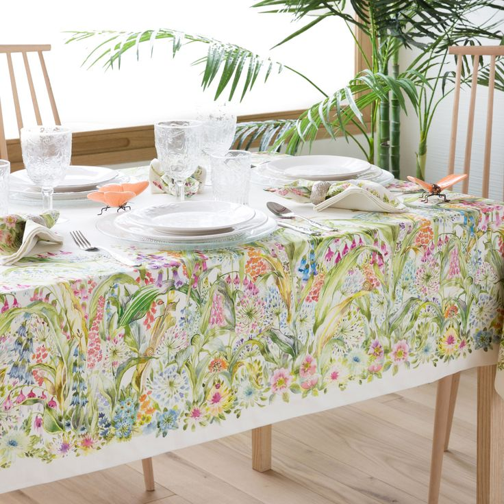 39 best manteles tablecloths images on pinterest for Manteles individuales zara home