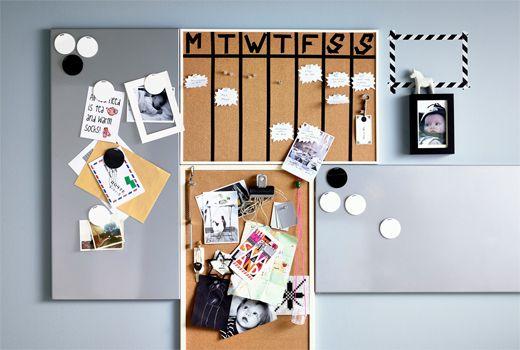 les 20 meilleures id es de la cat gorie tableau magn tique sur pinterest peinture magn tique. Black Bedroom Furniture Sets. Home Design Ideas