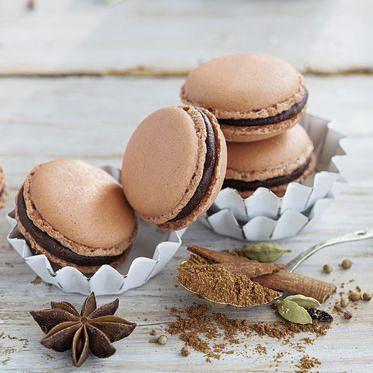 Lebkuchen-Macarons Rezept | Küchengötter
