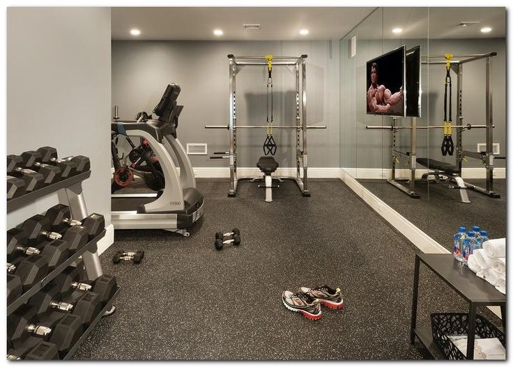 Setup gym ideas on small home th and room