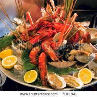 """Seafood Platter crawl"" up the coast of Australia......mmmm yummy!"