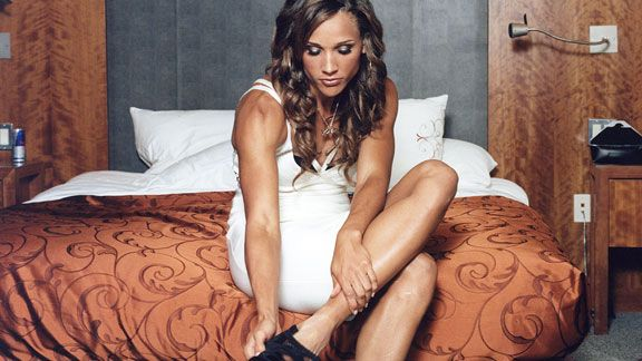 Lolo Jones mixes style and speed