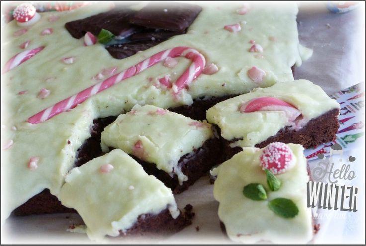 La Menthe : Brownies glaçage Get 27 par Miam La Cuisine de Cath