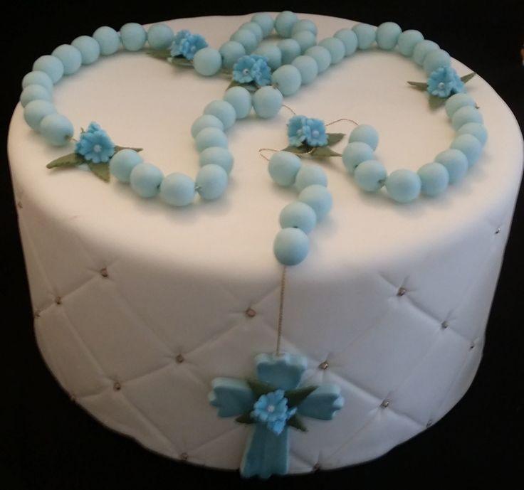 Pink, Blue or White Rosary For Cake, Recurditos de Bautizo, Baby Baptism Cake Topper, Decorasion Para Primera Comunion, Decoracion De Bautizo, Baptism Cake Decoration