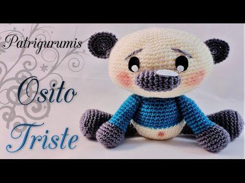 Oso Corazon Amigurumi a Crochet (VERSION ZURDO) parte 1 - YouTube
