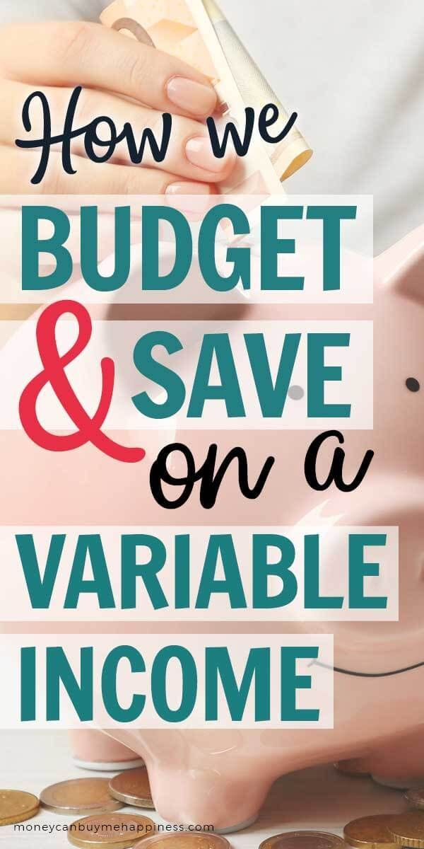 How To Budget Irregular Income When Your Income Varies Week To Week Or Month To Month It Can Be Hard To Make A Bu Budgeting Budgeting Finances Budgeting Tips