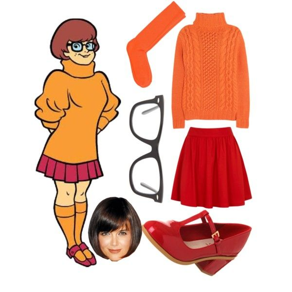 Not only is this costume simple and effortless for those brunettes with bobs, but you can pretend to lose your glasses and become incapacitated to avoid doing stuff you don't wanna do.