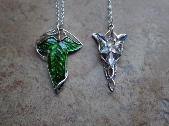 17 best jazz costumes images on pinterest lord of the rings elf leaf and evenstar erwin pendant necklaces set of two aloadofball Gallery