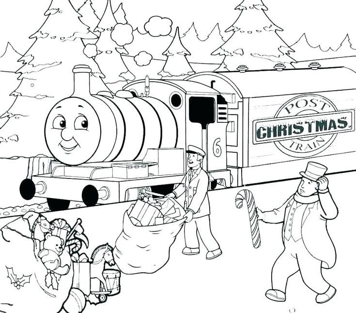 Pin On Train Coloring Pages