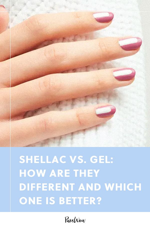Shellac Vs Gel How Are They Different And Which One Is Better In 2020 Gel Vs Shellac Shellac Manicure Gel