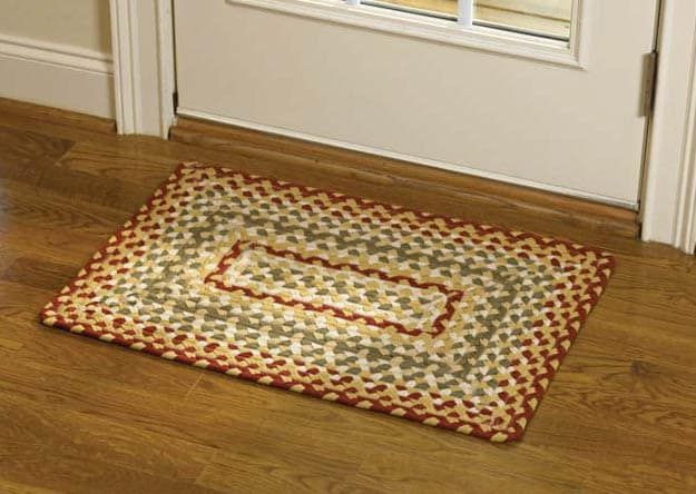 Mill Village Rectangle Braided Rug Braided Rug Diy Rugs Park Designs