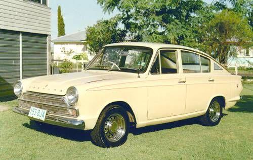 Ford Cortina Mk 1  Rare Coupe