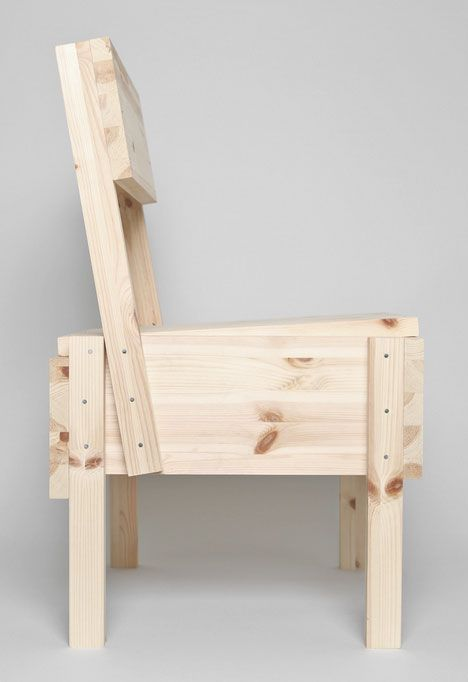 Enzo Mari's Sedia 1 Chair