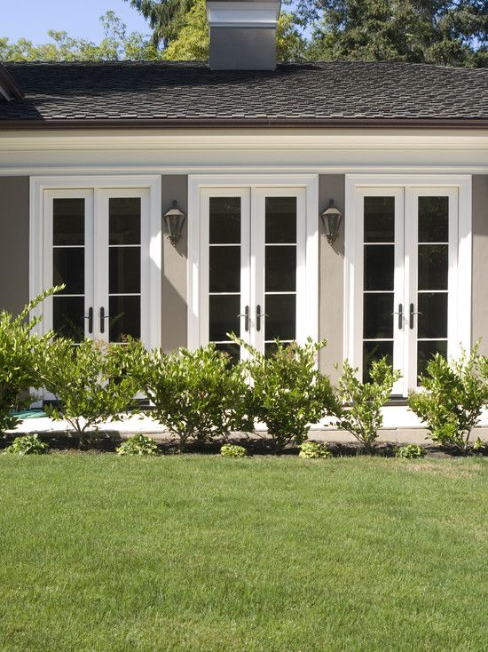 Exterior Narrow French Doors Design, Pictures, Remodel, Decor and Ideas