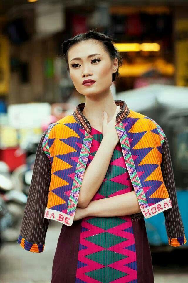 Ikat / batik indonesia