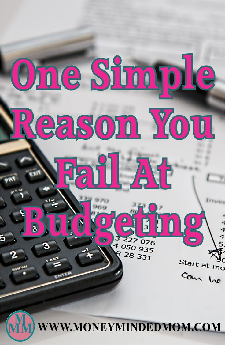 One Simple Reason You Can't Stick To Your Budget - There are many reason why people fail at budgeting, let me share one simple reason most people fail.