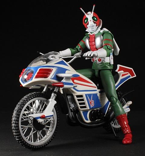 Kamen Rider V3 & hurricane