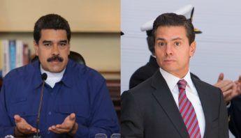 """El Presidente de Venezuela, Nicolás Maduro, dijo hoy que su homólogo mexicano, Enrique Peña Nieto, se """"comporta como un empleado abusado por parte"""" del gobernante estadounidense, el republicano Donald Trump."""