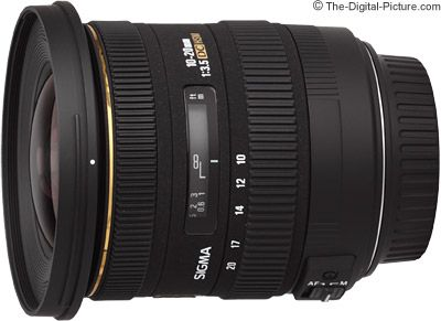 Is the Sigma 10-20mm f/3.5 EX DC HSM Lens right for you? Learn all you need to know in The-Digital-Picture.com's review!