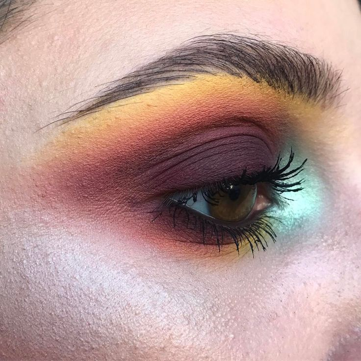 """936 Likes, 21 Comments - Gabrielle Alvarez (@midnight_weirdo) on Instagram: """" 12/24 Castle In The Sky PRODUCTS USED: @katvondbeauty Star, Clementine, Gloom, and {Green}…"""""""