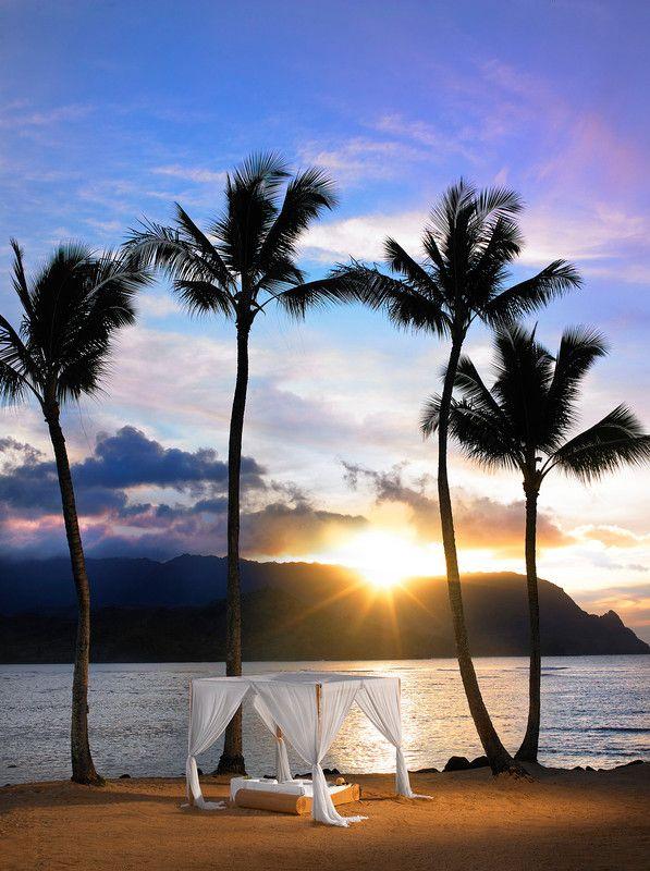 The St. Regis Princeville Resort in Kauai, Hawaii. Yes, please.