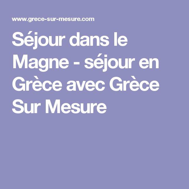 Séjour dans le Magne - séjour en Grèce avec Grèce Sur Mesure