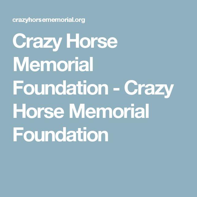 Crazy Horse Memorial Foundation - Crazy Horse Memorial Foundation