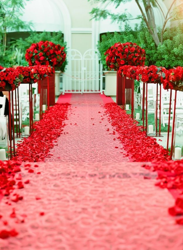 93 best red weddings images on pinterest   flowers, marriage and