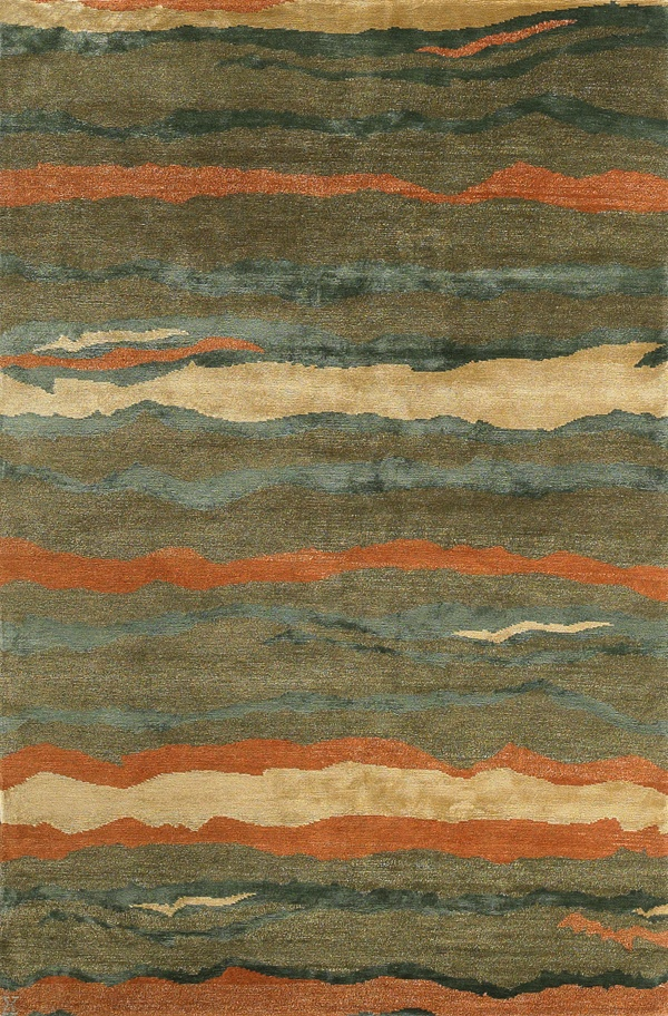 New Moon Rug   Tigre, Spearmint. This Design Is A Modern Take On A