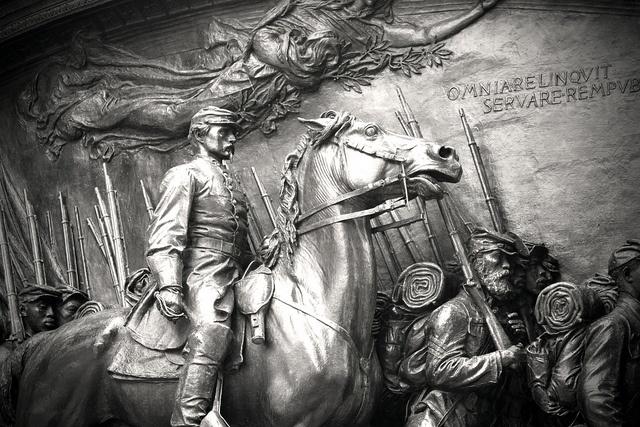 Robert Gould Shaw / 54th Massachusetts Regiment Memorial by Erica Schultz, via Flickr