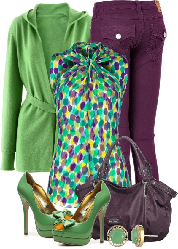"""Colorful Jeans III"" by brendariley-1 on Polyvore"