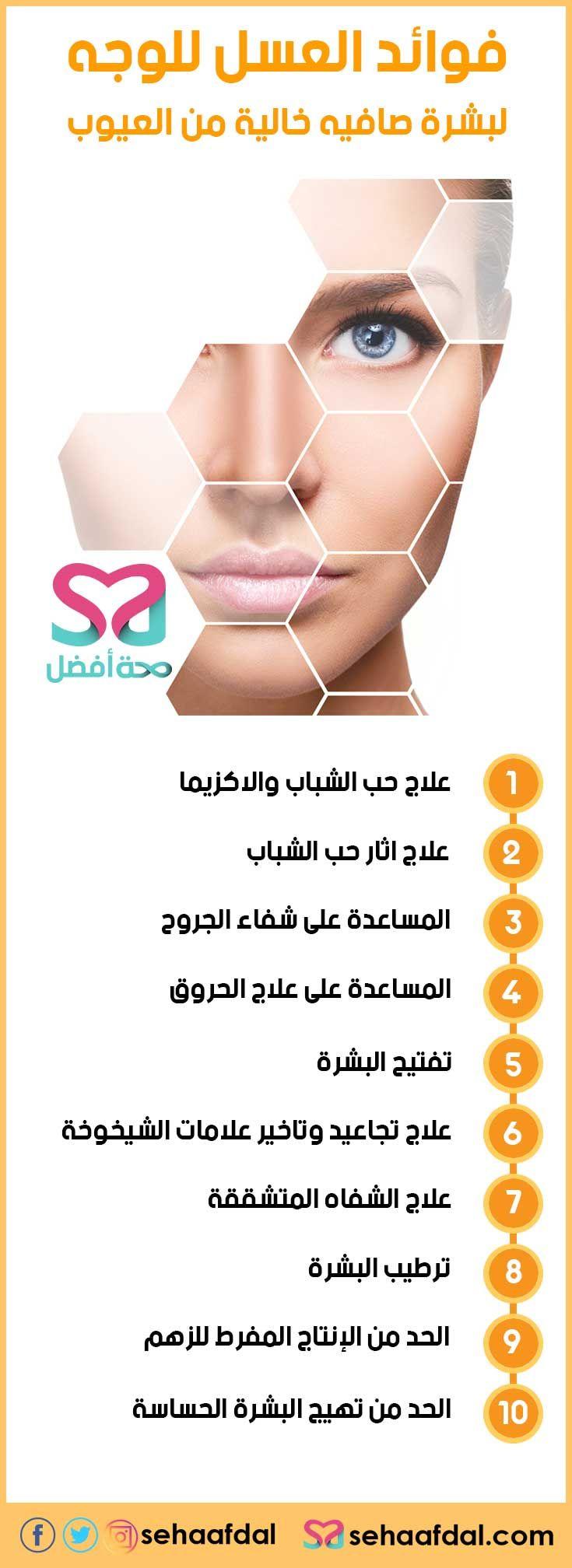 فوائد العسل للوجه وكيفية استخدامه لبشرة صافيه خالية من العيوب Beauty Care Skin Care Hair Growth Diy