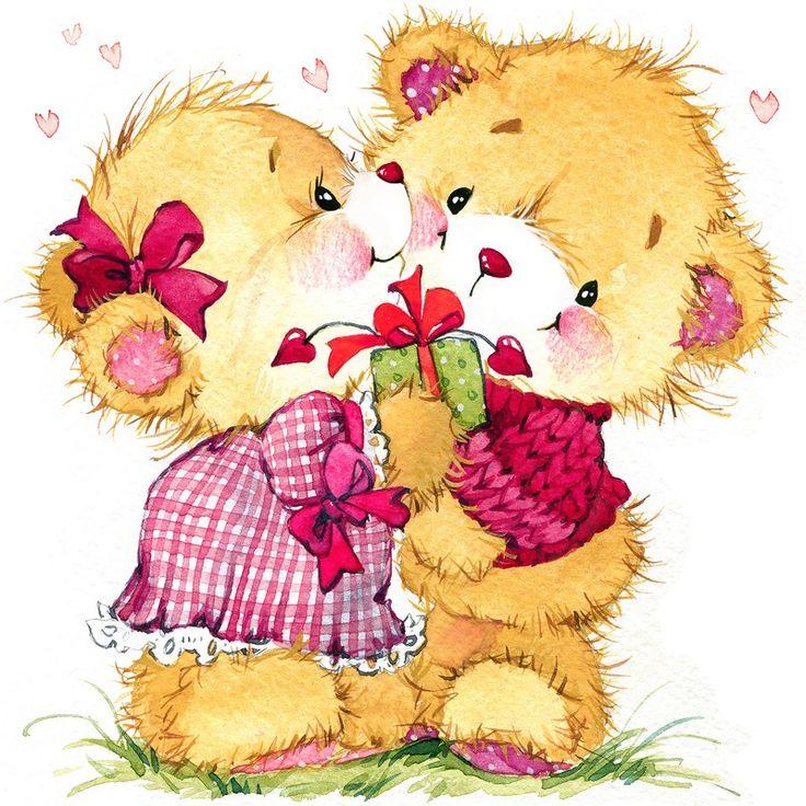 открытки обнимашки для подруги содик