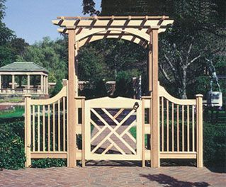English Arbor by Trellis Structures