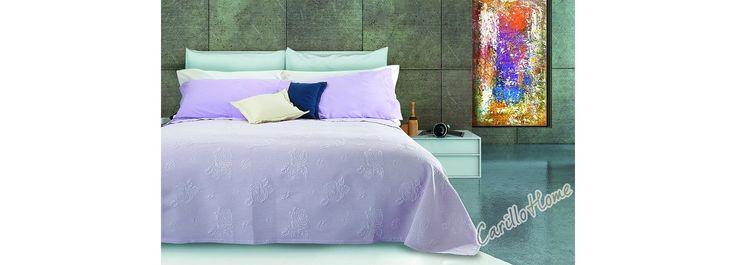 Copriletto in cotone Klarisa #letto #carillohome #home www.carillohome.com #lenzuola #copriletto #lenzuolamatrimoniale