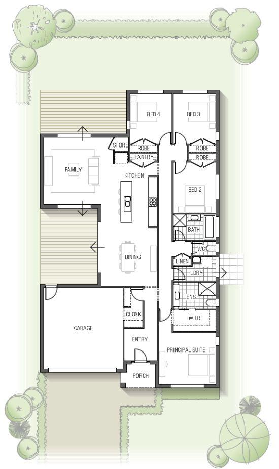 Cedarwood floor plan