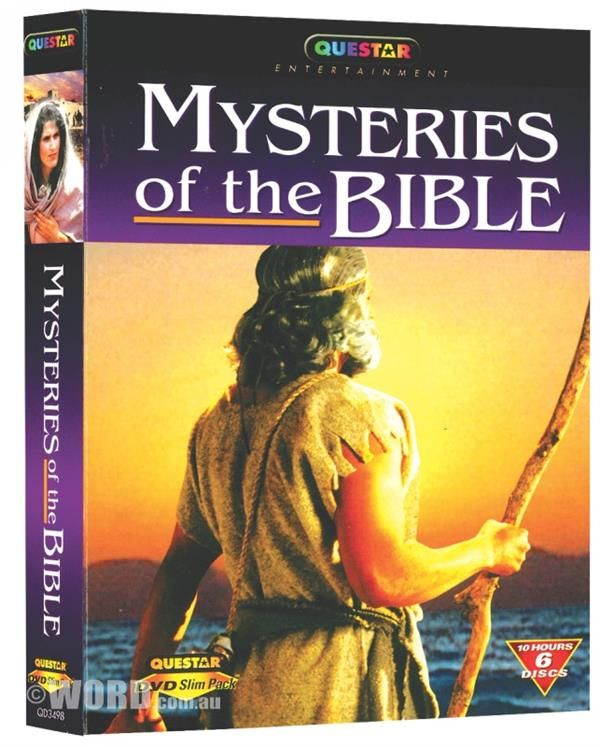 DVD Mysteries of the Bible (6 DVD Set) / Running Time: Approx 10 Hours   WORD Bookstores