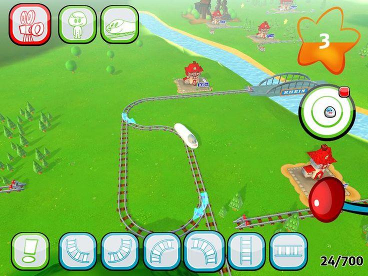 Der kleine ICE - Gratis Kinder App iPad iPhone