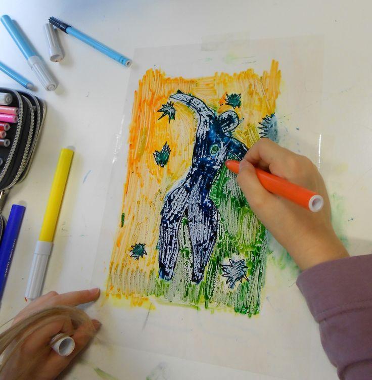 Matisse: Icaro, monostampa
