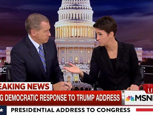 MSNBC Scolds Brian Williams for 'Patronizing' Rachel Maddow